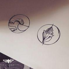 "Um bom dia com o desenho da tattoo da Nádia! ""you can make it through these waves"". ""Blue here is a shell for you Inside you'll hear a sigh""Joni Mitchell. #patmara #tattoo #tatuagem #customtattoo #shelltattoo #wavetattoo #belohorizonte #minastattoo #tatuagemfeminina #jonimitchell #tattoodesign #tattooart #tattooartist #tattoocustom #customtattoos #drawing2me"