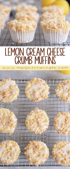 In these ultra-soft and tender lemon cream cheese crumb muffins, cream cheese is mixed right into the batter making the tastiest lemon muffin ever. And that crumb topping? Divine!