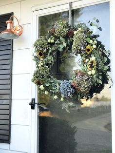 DIY Autumn Wreath li