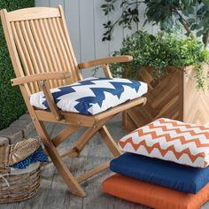 Coral Coast Valencia Outdoor Furniture Seat Pad - 18.5 x 17 in.