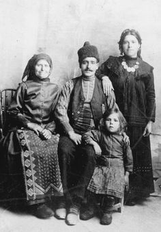 Bulgarian Family from Dobruja