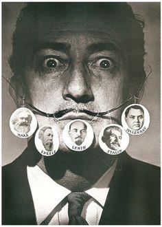 Salvador Dalí~Photo by Philippe Halsman