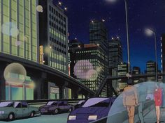 City Aesthetic, Aesthetic Images, Aesthetic Backgrounds, Retro Aesthetic, Aesthetic Anime, Sailor Moon Background, Dope Cartoon Art, Anime City, Les Gifs