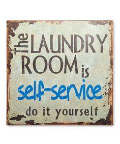'Laundry Room' Wall Art