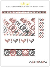 Semne Cusute: model de camasa din CRISANA, Salaj Folk Embroidery, Modern Embroidery, Embroidery Stitches, Embroidery Patterns, Cross Stitch Patterns, Machine Embroidery, Knitting Patterns, Palestinian Embroidery, Antique Quilts