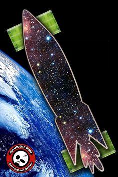 $129 Cosmic Mini Cruiser #skateboard with light up wheels.