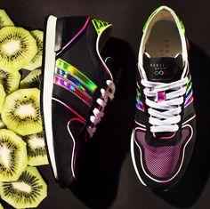 SERAFINI SS2015- Black / Pink Los Angeles
