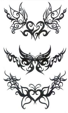 Maybe it's because I'm a girl but I love the swirliness of these designs :p