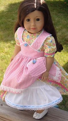 American Girl Doll Clothes Mid 1800's by AngelKissesBoutique