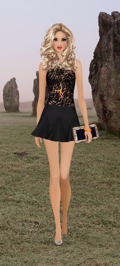 tribal Call covet Fashion Game