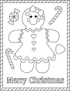 Gingerbread Man Cutout Template - and Lesson Plan! | Gingerbread man ...