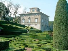 Villa Lante a Bagnaia - Viterbo - I giardini più belli d'Italia