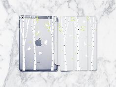 Birch Tree iPad Pro 12.9 Case Birds iPad Pro 12.9 inch iPad 7th generation Case 10.2 iPad 10.2 Cover iPad 6th gen Case iPad 2019 2018 2017 by StarCaseUA on Etsy Ipad Mini 2, Samsung Cases, Iphone Cases, Ipad Air 2 Cases, Plastic Design, Ipad Art, Ipad Pro 12 9, Good Notes, Plastic Case