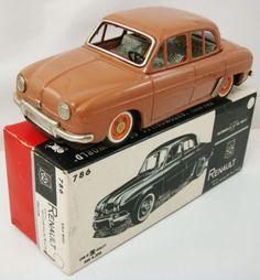 Bandai Renault Tin Toy