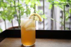 Tea Thyme (& Bourbon) Soda (Best Party Drink Winner)
