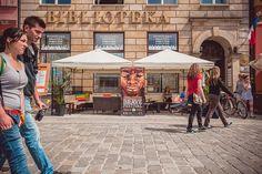 Strefa Brave przed Centrum Festiwalowym, fot. Agnieszka Bułacik