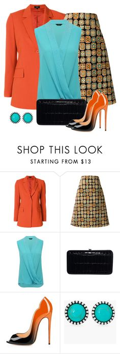 """""""Untitled #1606"""" by gallant81 ❤ liked on Polyvore featuring Theory, La DoubleJ, M&Co and Chico's"""
