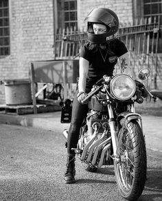 """efficacyclothing: """" """"The journey not the arrival matters."""" —T.S. Eliot ⚡️ : @wade777 // @katieabdilla www.efficacyclothing.co // #vagabond #efficacyclothing #caferacersofinstagram #croig #cb400f #cb400four #caferacer #ninetynineco #biltwell (at New..."""
