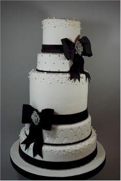 Rhinestone Wedding Cake Jewelry | Cup a Dee Cakes Blog: Rhinestone Bling Wedding Cake