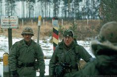 US troops on the East German border
