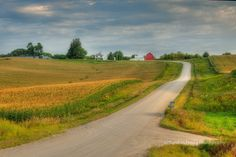 """Amish Country"" in Southeastern Minnesota near Lanesboro."