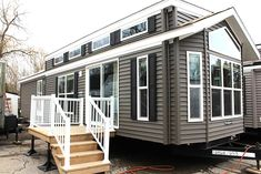 Browse our selection of new Woodland Park Models for sale right now at our campground sales lots. Or view past models sold to get inspiration for customizing your own model to fit your needs!