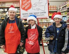 CiTi Exceptional Ed Students Help Ring the Salvation Army Bell for the Holidays!
