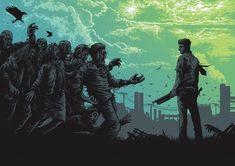 Bioshock, Iron Maiden, 2000ad Comic, Dan Mumford, Omg Posters, Walking Dead Comics, Art Of Dan, Zombie Art, Print Release