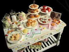 Little girl's tea party by goddess of chocolate, via Flickr