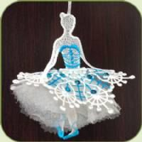 SDS0590 3D Ballet Dancer ~ Stitch Delight