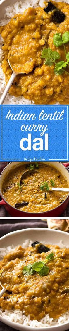 Homemade Dal is easy to make and tastes so amazing, it's worthy of being a meal in itself.
