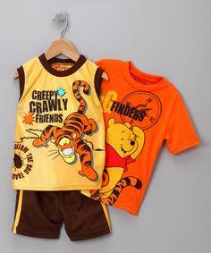 Pooh and Tigger clothes