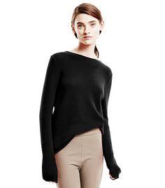 Shop the Season's Most Wearable Lightweight Sweaters via @WhoWhatWear