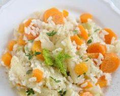 Risotto aux carottes et poireaux fait maison : http://www.fourchette-et-bikini.fr/recettes/recettes-minceur/risotto-aux-carottes-et-poireaux-fait-maison.html