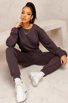 Womens Mix & Match Edition Sweat Jogger Jumpsuit - Black - S Sweats Outfit, Jumpsuit Outfit, Cute Comfy Outfits, Pretty Outfits, Comfortable Outfits, Stylish Outfits, Loungewear Jumpsuit, Black Girl Fashion, Mix Match