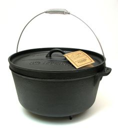Old Mtn 12 Qt Dutch Oven with feet