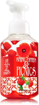 Spring Poppies & Picnics Gentle Foaming Hand Soap - Soap/Sanitizer - Bath & Body Works