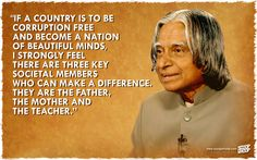 APJ Abdul Kalam & His Inspiring Words On His Death Anniversary Kalam Quotes, Abdul Kalam, Beautiful Mind, Favorite Quotes, Presidents, How To Become, Mindfulness, Inspirational Quotes
