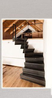 Vztah schodiště a prostoru kolem něj