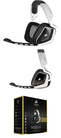 2b1124b223 Headsets and Earpieces  Corsair Gaming Void Wireless Rgb Gaming Headset -  White -  BUY IT NOW ONLY   99.99 on eBay!