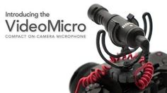 The VideoMicro is a compact microphone designed to improve the audio quality of your videos. It incorporates a high-quality cardioid condenser microphone capsule for great quality audio recordings when used with a wide range of cameras.