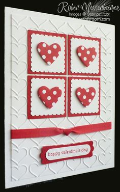 RobinsCraftRoom.com » Blog Archive » Fun with Valentine Cards – Card #4