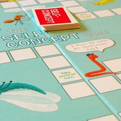 The Self-Concept Game is an excellent tool to improve self-esteem. This appealing board game is an great way to engage—and treat—children who are too old for puppets and toys, but too young to express themselves readily in therapy.