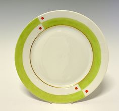 Dinner plate by Nora Gulbrandsen for Porsgrund Porselen. In production between Design Basics, Machine Age, Vintage Ceramic, Deco, Dinner Plates, Norway, Porcelain, Pottery, Clay
