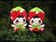 Happy Birthday Mr Jaychou 2011 3D Origami Strawberry Girl