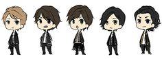 Arashi costumes