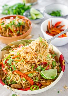 Crockpot Chinese Pork with Noodles | Jo Cooks #crockpotrecipes #chinesefood #pork