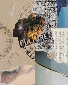 Lesson #3 - Save it for the Future Mixed Media Collage and Assemblage, Leslie Fandrich, The High Queen
