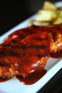 Honey BBQ Chicken - with sauce made from scratch! A yummy recipe from @FavFamilyRecipes...