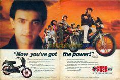 Hero Puch by Porsche Design Vintage Advertisements, Vintage Ads, Vintage India, Indian Prints, Porsche Design, Magazine Ads, Old Ads, Bollywood Stars, Rare Photos